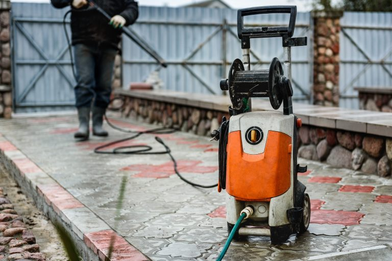 pressure washer with long hose